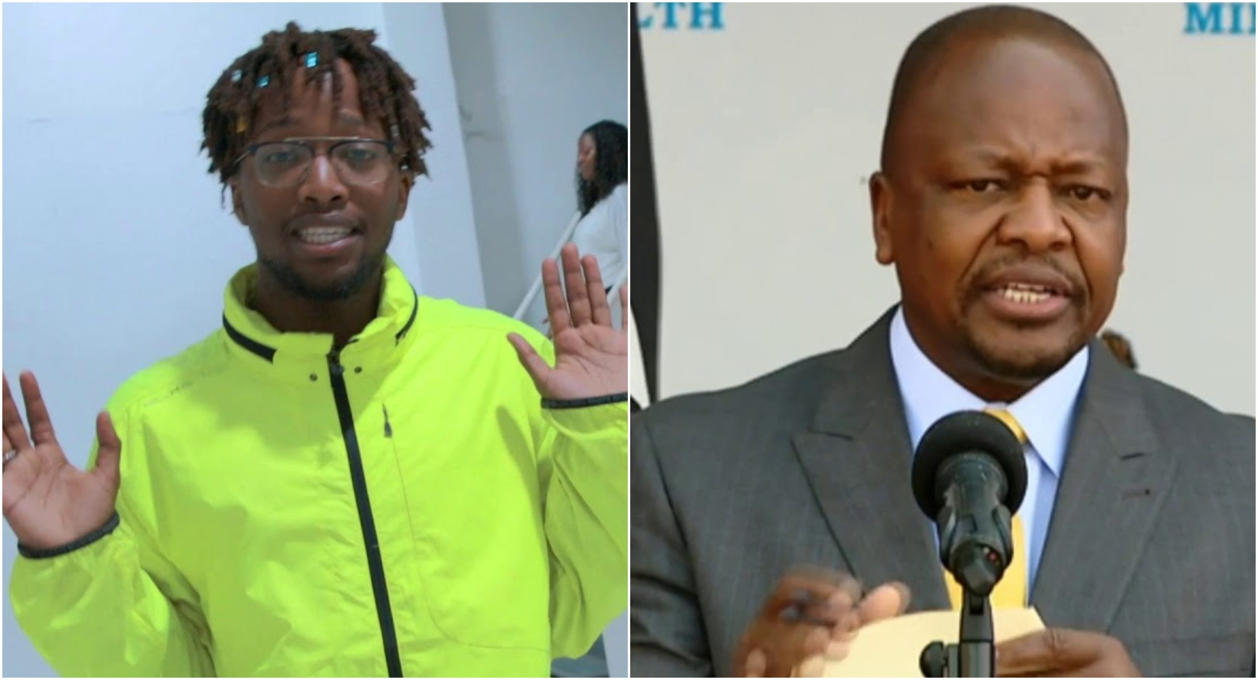 CS Mutahi Kagwe´s son who is a rapper and IT guru impresses Kenyans (Video)