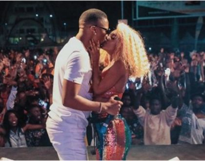Vanessa Mdee breaks to tears during Rotimi´s special surprise (Video)