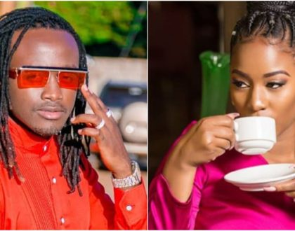 Bahati´s new demonic hairstyle paints Diana Marua as a failed wife (Photos)