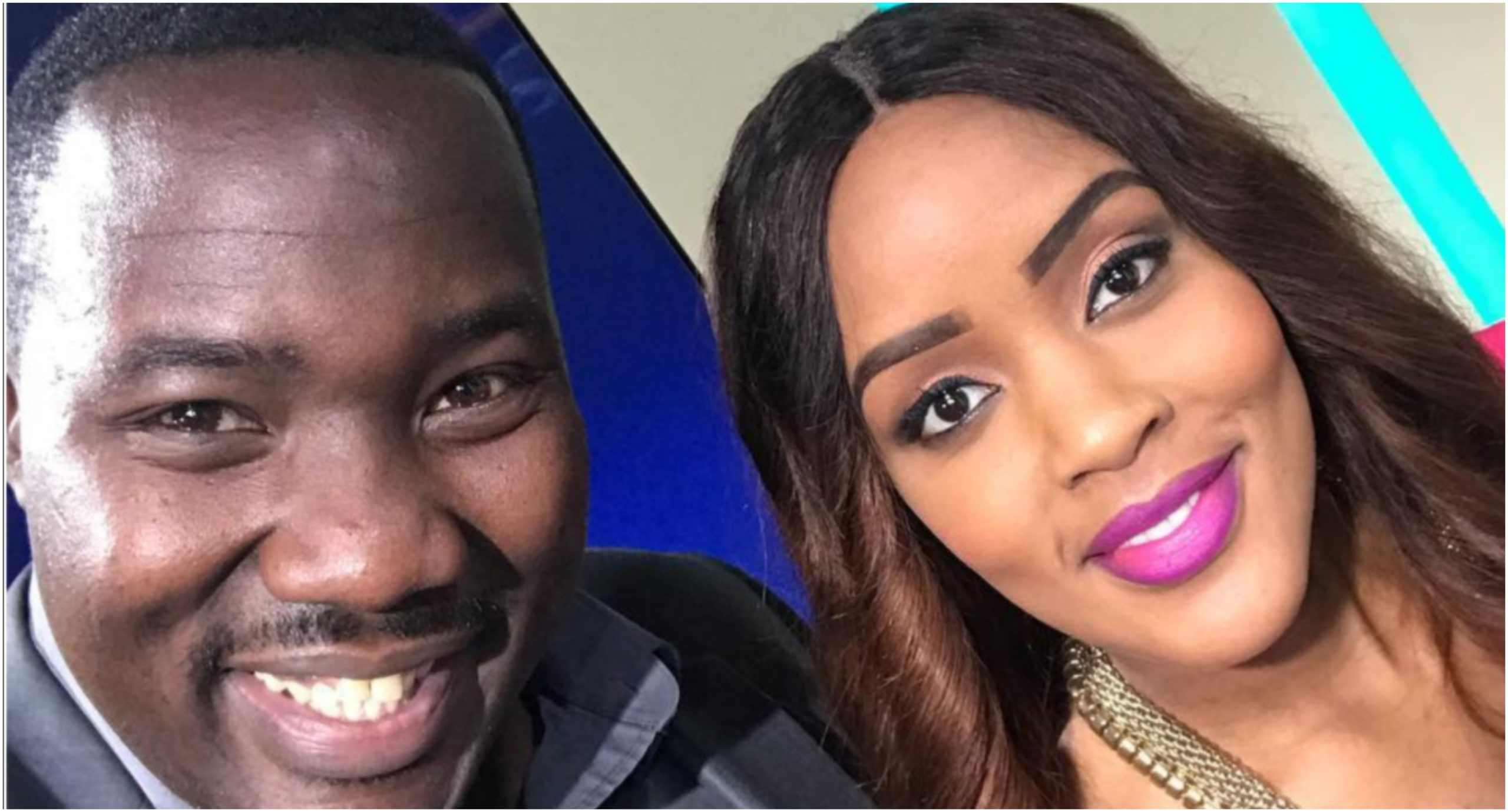 Internet erupts after Willis Raburu and Joey Muthengi´s screen chemistry becomes a reality (Photos)