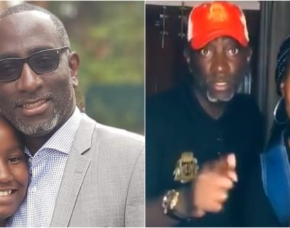 Cute video of Robert Burale and daughter dancing to CS Kagwe´s ´gerrit´ rendition impresses Kenyans