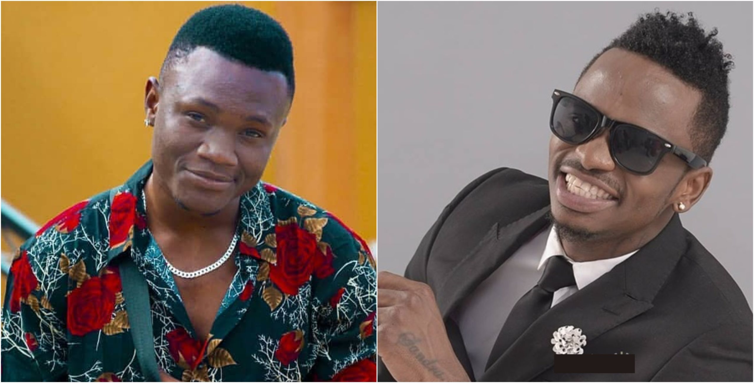 Diamond Platnumz´ hilarious reply to Mbosso´s request to use birth control lights up the internet (Screenshots)