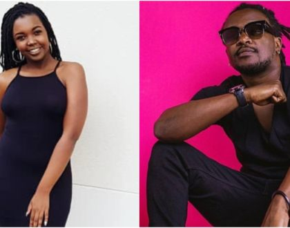 Nyashinski´s wife resurfaces looking like a snack months after welcoming newborn (Photos)