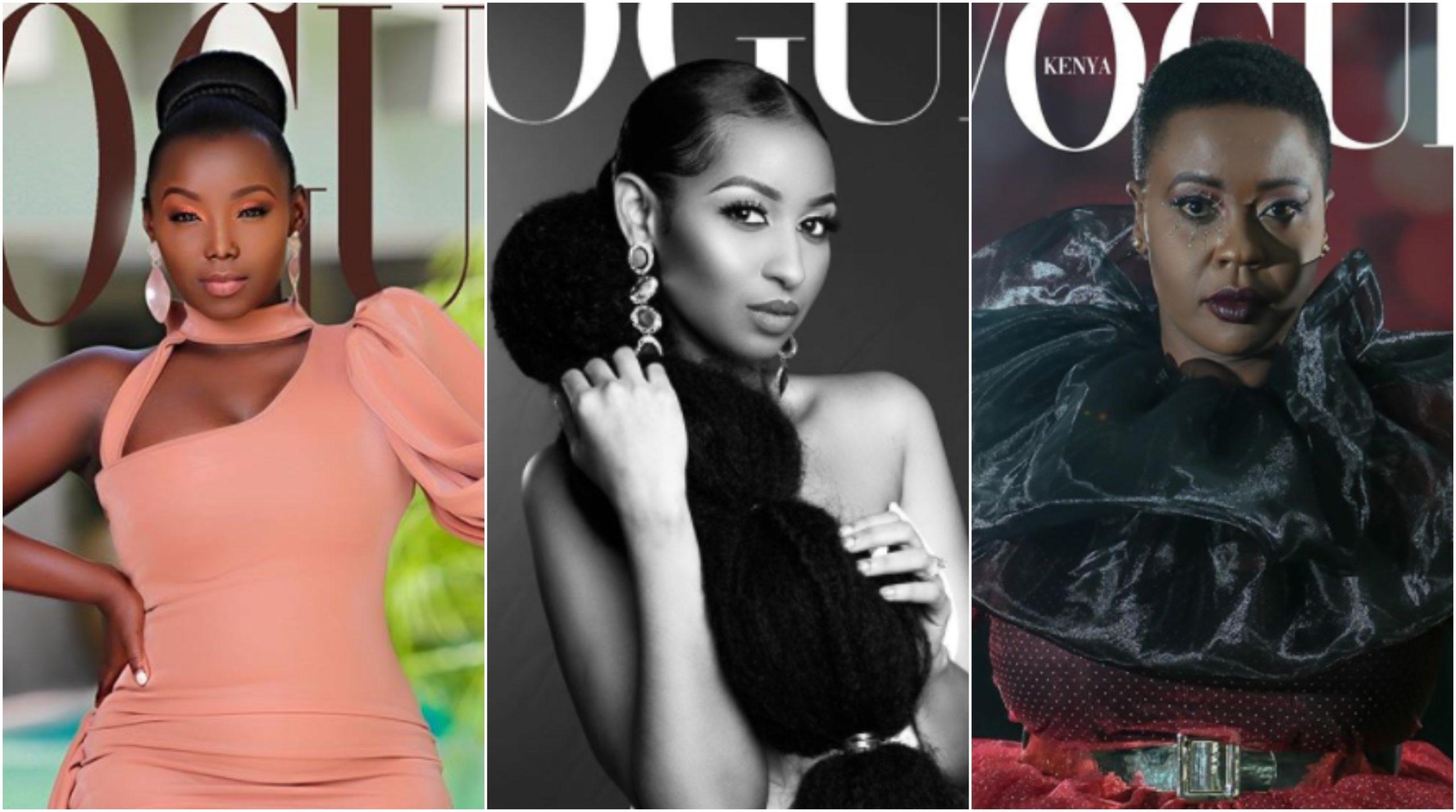 Kenyan female celebrity featured on CNN after unique Vogue challenge (Photos)