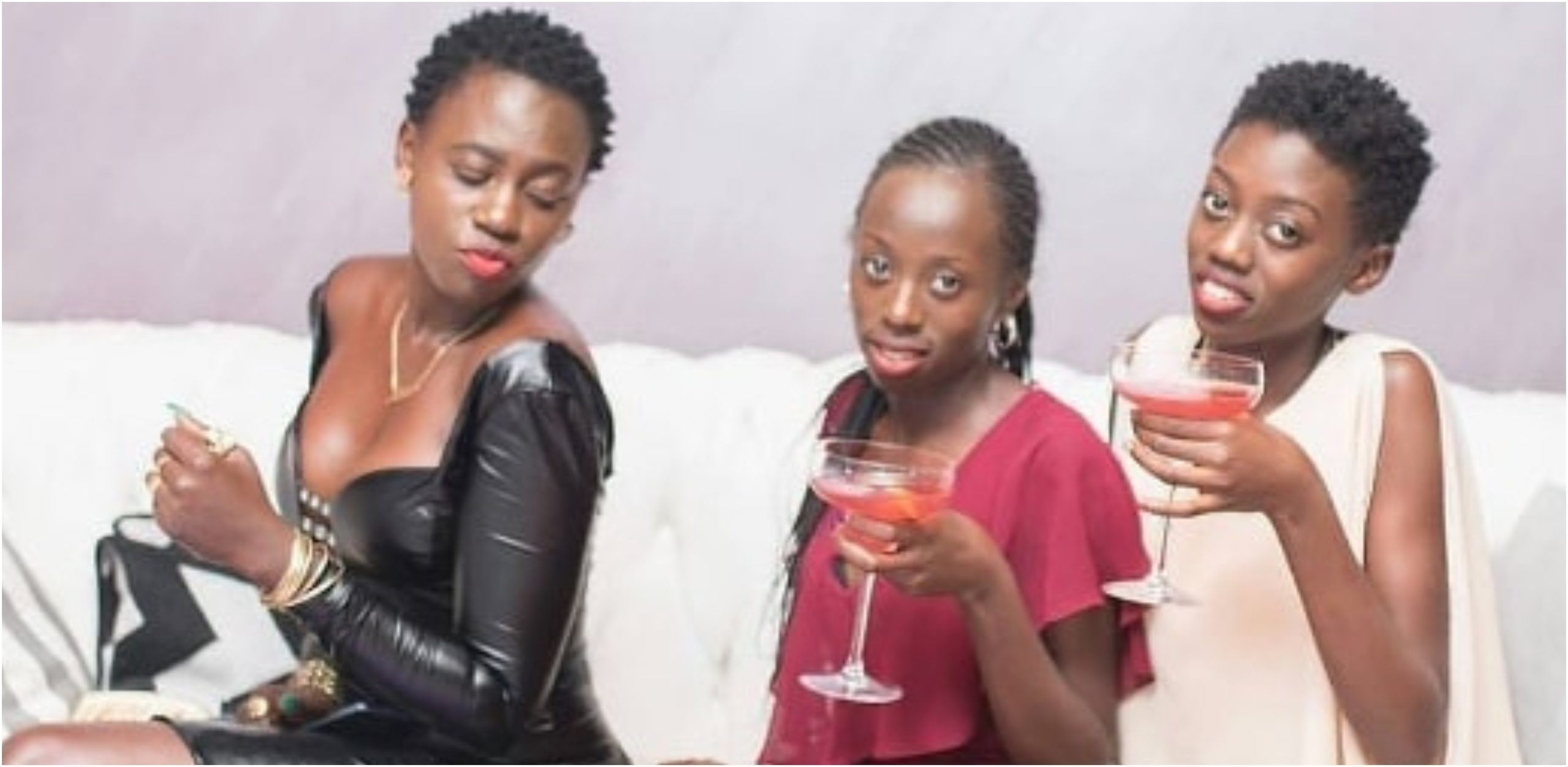 Akothee gives interesting reason why she serves her children alcohol (Photos)