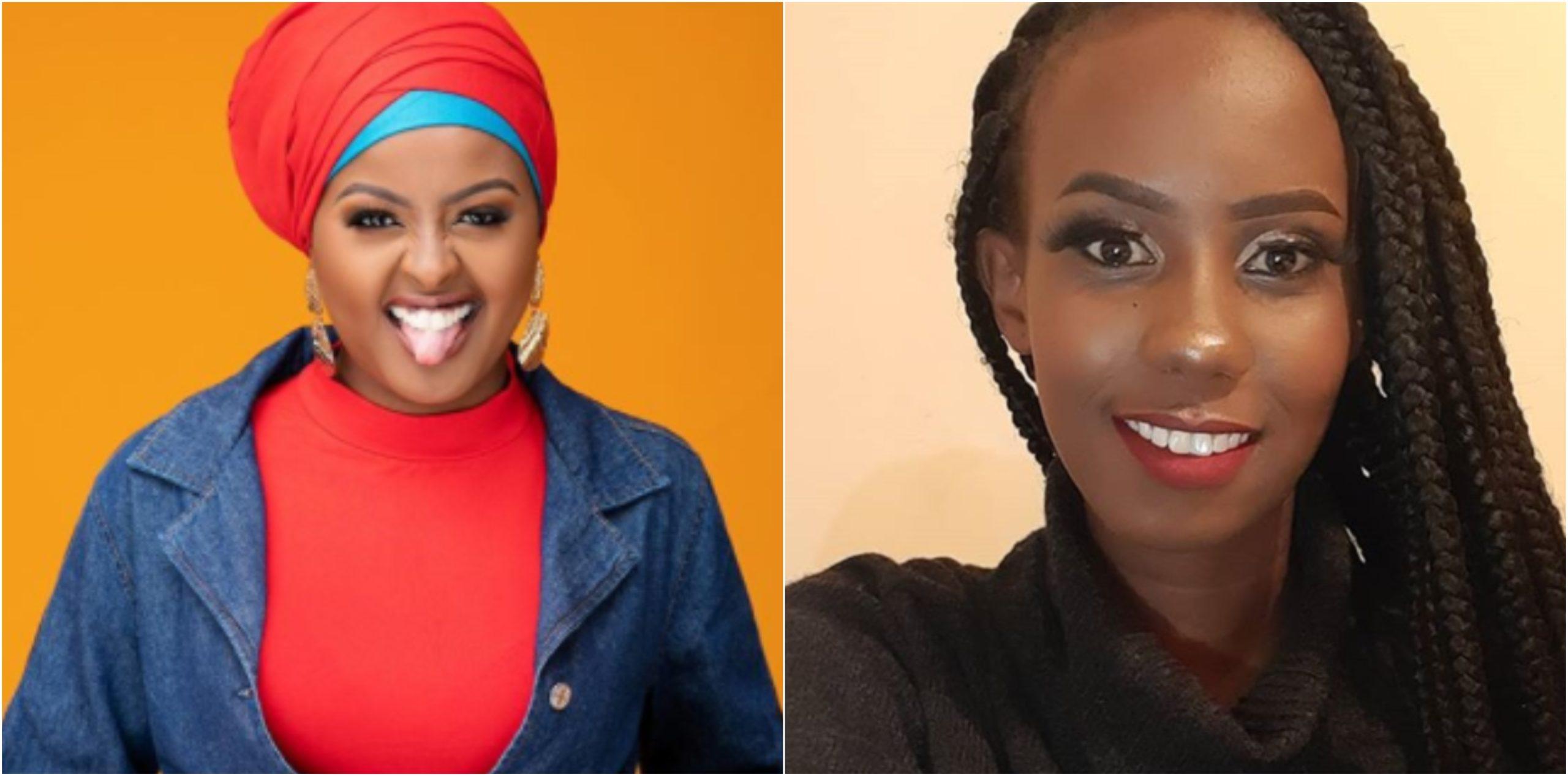 NTV´s Amina Abdi vows to get 'female Andrew Kibe' King Kalala on radio (Details)