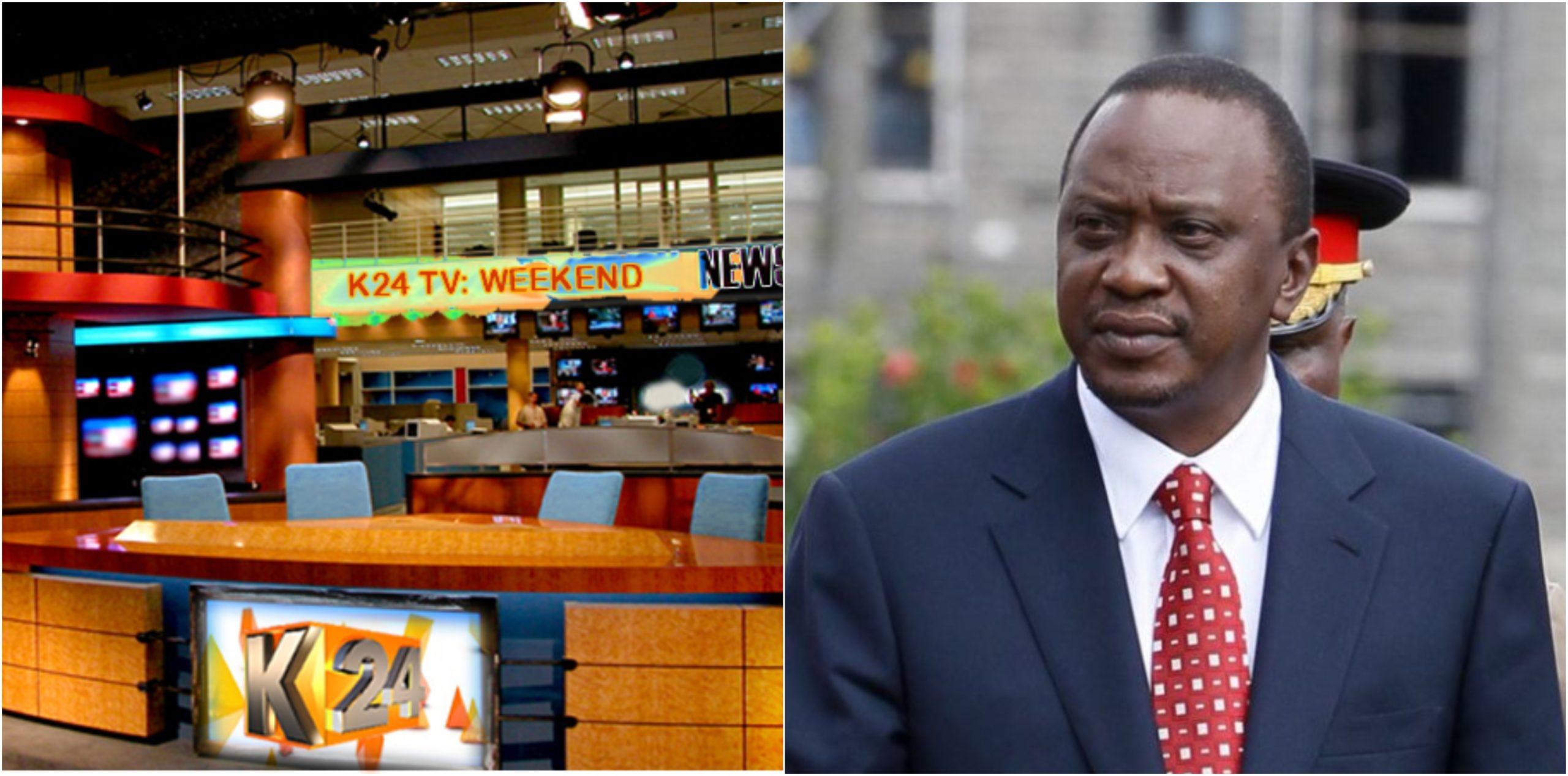 K24´s woes deepen as employees address disturbing letter to President Uhuru (Screenshots)