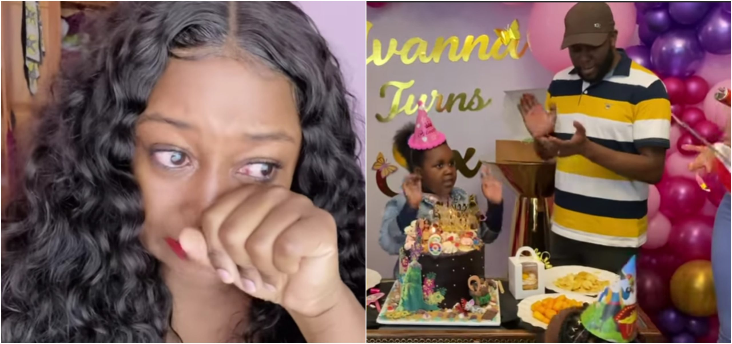 Betty Kyallo weeps uncontrollably during daughter´s 6th birthday (Video)