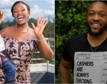 How Maureen Waititu´s baby daddy, Frankie Just Gym It marked Father´s Day (Video)
