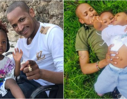 What a dad! Babu Owino shows off all-grown daughters on Father´s Day (Photos)