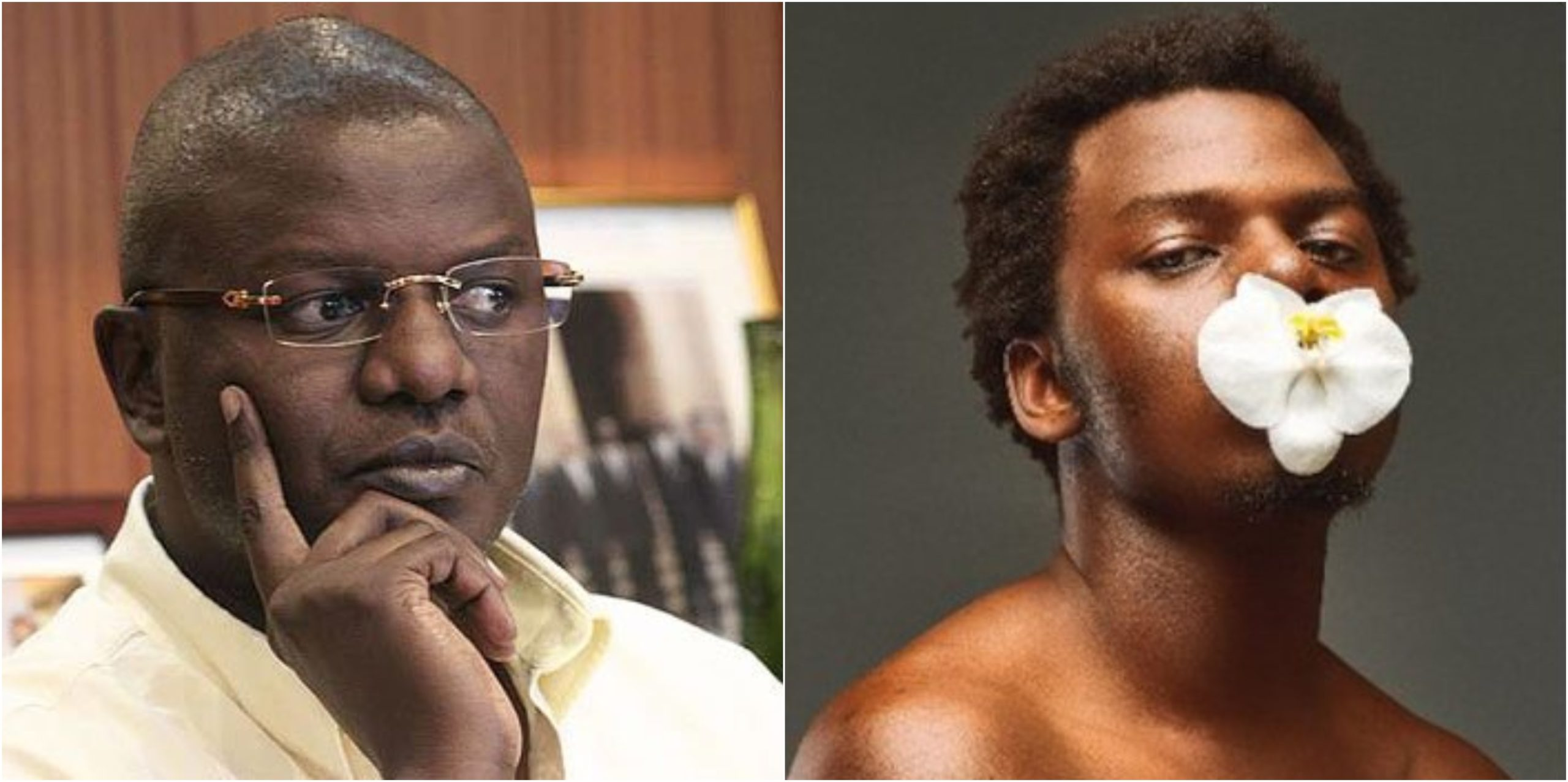 """""""I don´t believe in marriage,"""" Louis Otieno's son confesses days after introducing Mzunguboyfriend Patrick"""