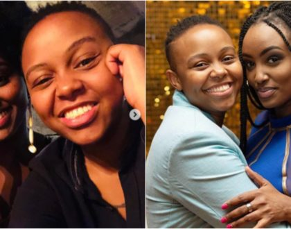 Michelle Ntalami and BBC´s Makena fuel lesbianism rumors in open love letters to each other