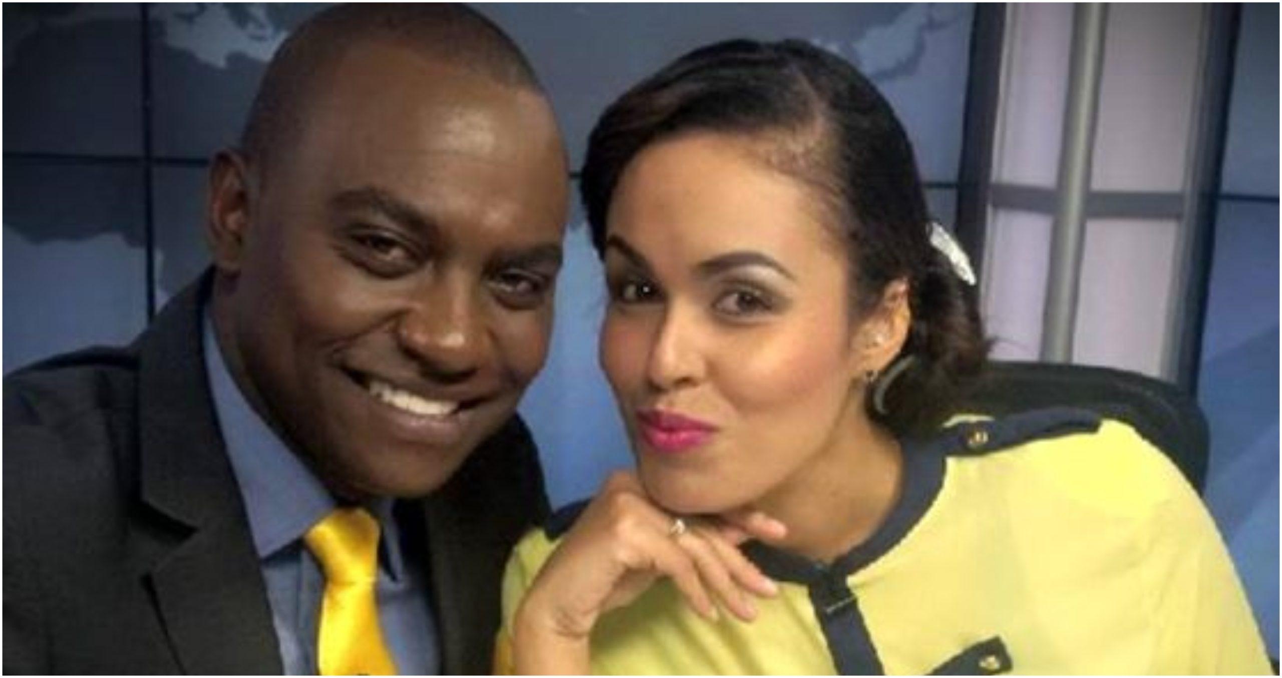 Sad! TV couple Eric Njoka and Karen Knaust spark emotions in final goodbyes