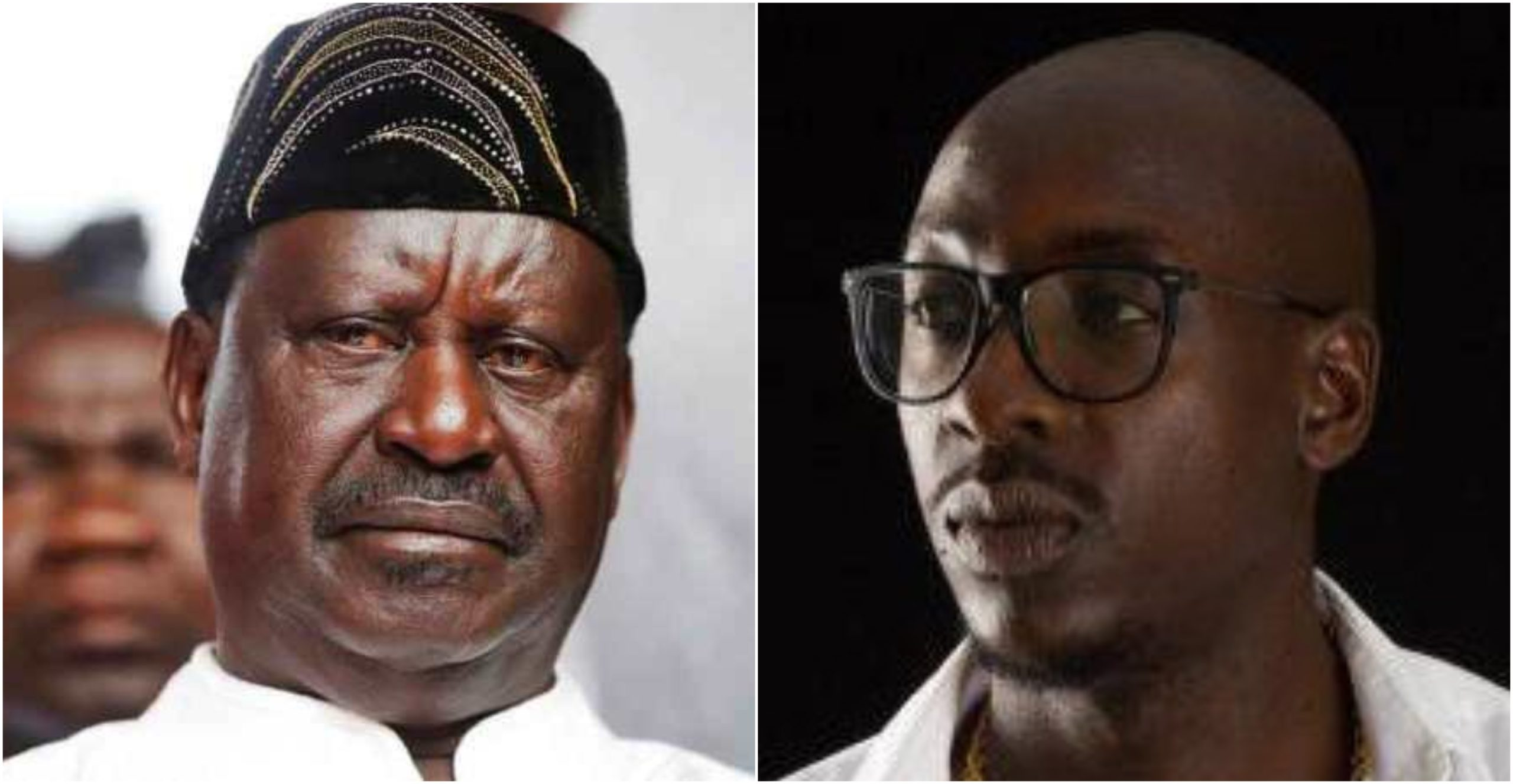 Sauti Sol´s Bien take on Raila´s health leaves bitter taste in the mouths of Kenyans (Screenshots)