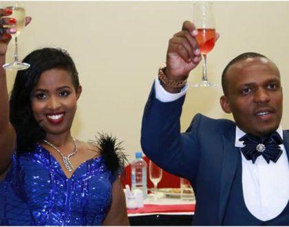 Sad goodbyes! Ben Kitili and wife, Amina Mude confirm 'breakup' (Screenshots)