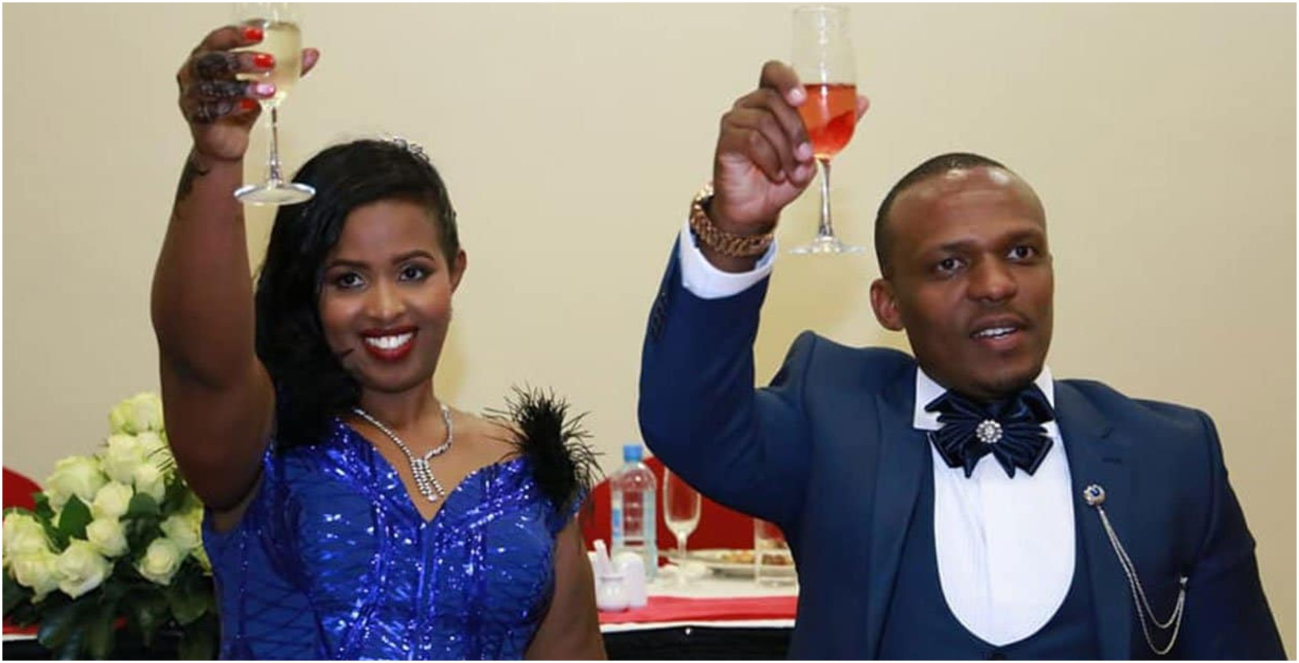 Sad goodbyes! Ben Kitili and wife, Amina Mude confirm 'breakup' (Screenshots)