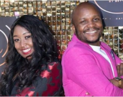 Betty Kyallo and Jalango's hot screen chemistry during her salon re-launch raises eyebrows (Photos)