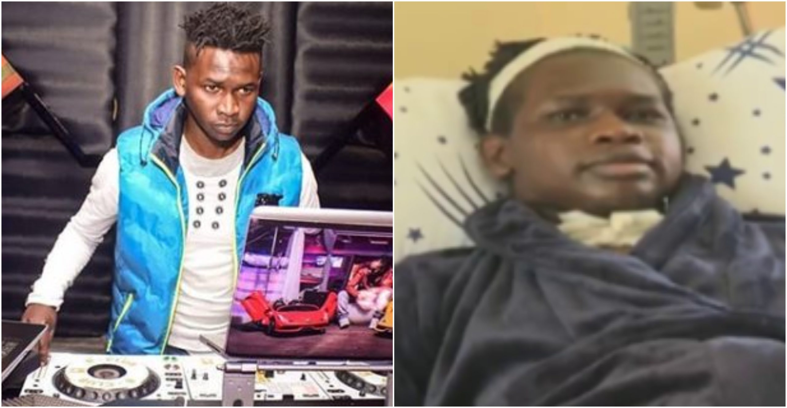 """My hands were my tools of trade but I now can't move them,"" paralyzed DJ Evolve cries for justice (Video)"