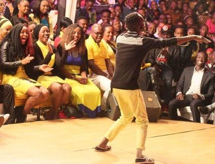 Churchill Show's comedian found dead!