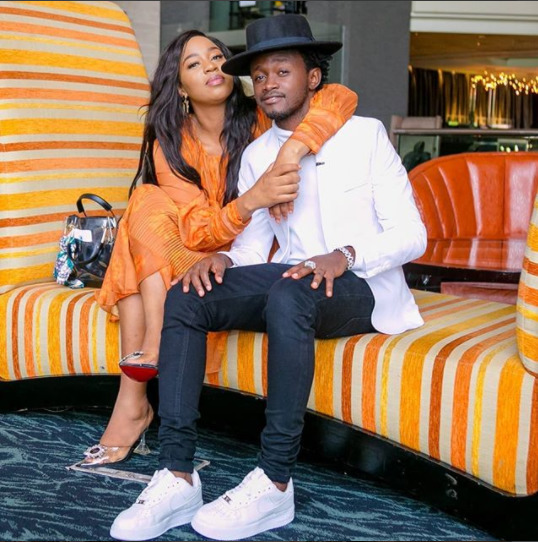 bahati and his wife