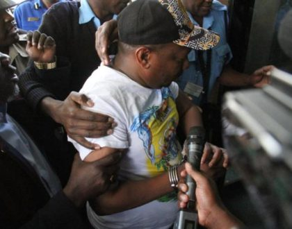 Mike Sonko mocks cop who manhandled him in Voi, offers to pay his child after wife embarrassed him