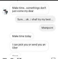 Mkunaji slides into girl's DMs