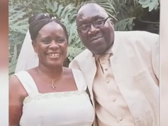 Never seen before photos of the late Papa Shirandula and wife on their wedding day!