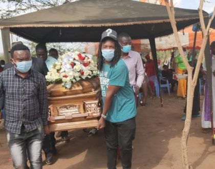 The late Kasee's emotional send off that left many in tears (Photos)