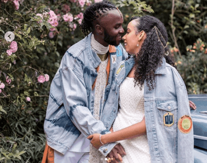 Goals! Lupita Nyong'os handsome brother weds the love of his life (Photos)