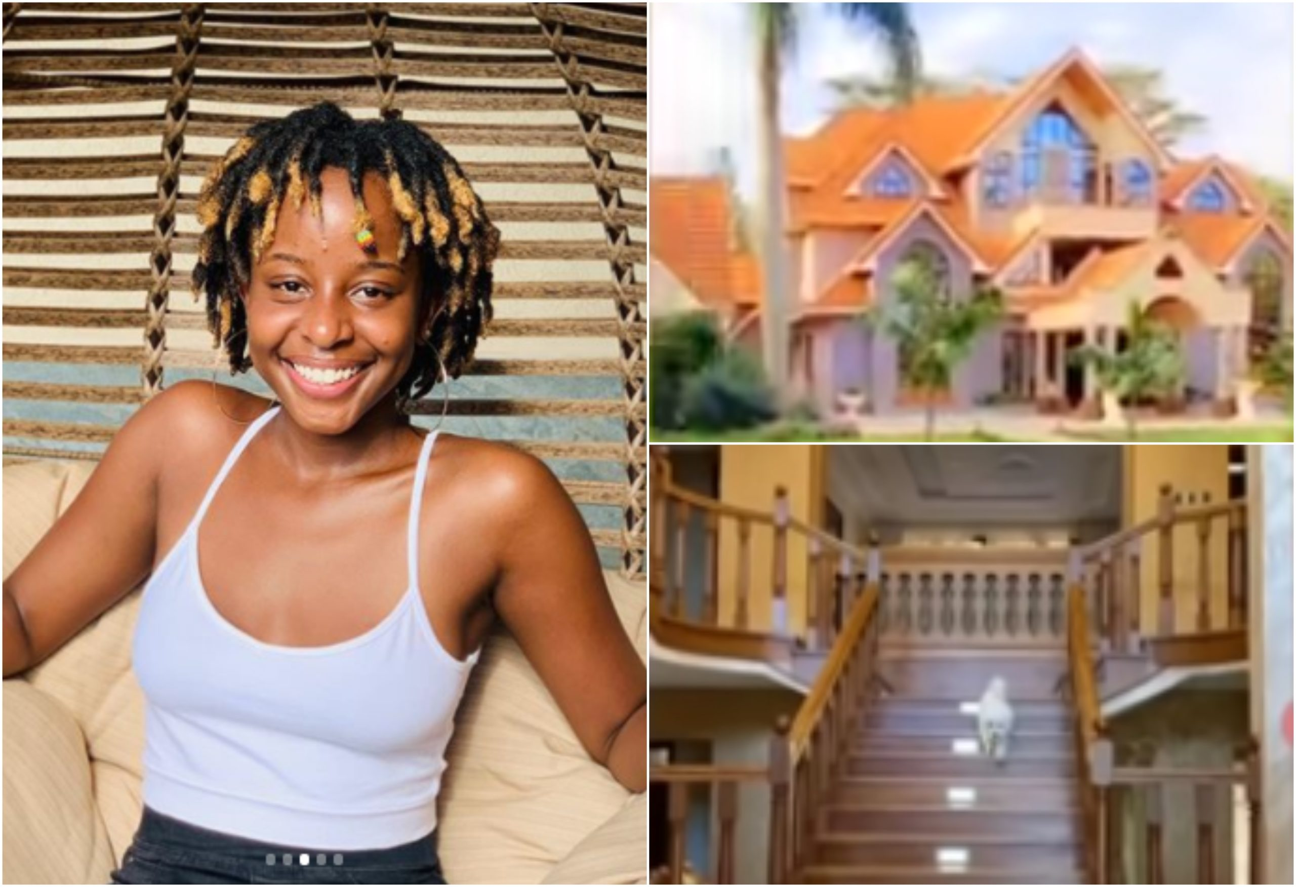 Joan Kubai's house tour of parents' swanky mansion that has left Kenyans speechless (Video)