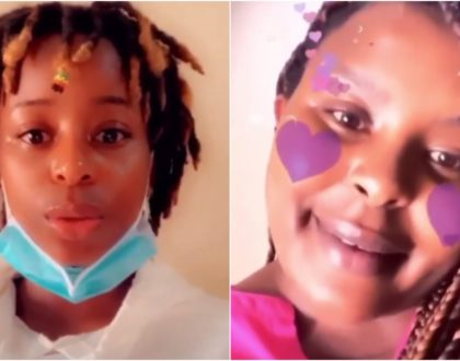Videos of Joan Kubai and sister begging Kenyans to pull down virtual house tour sparks wild reactions