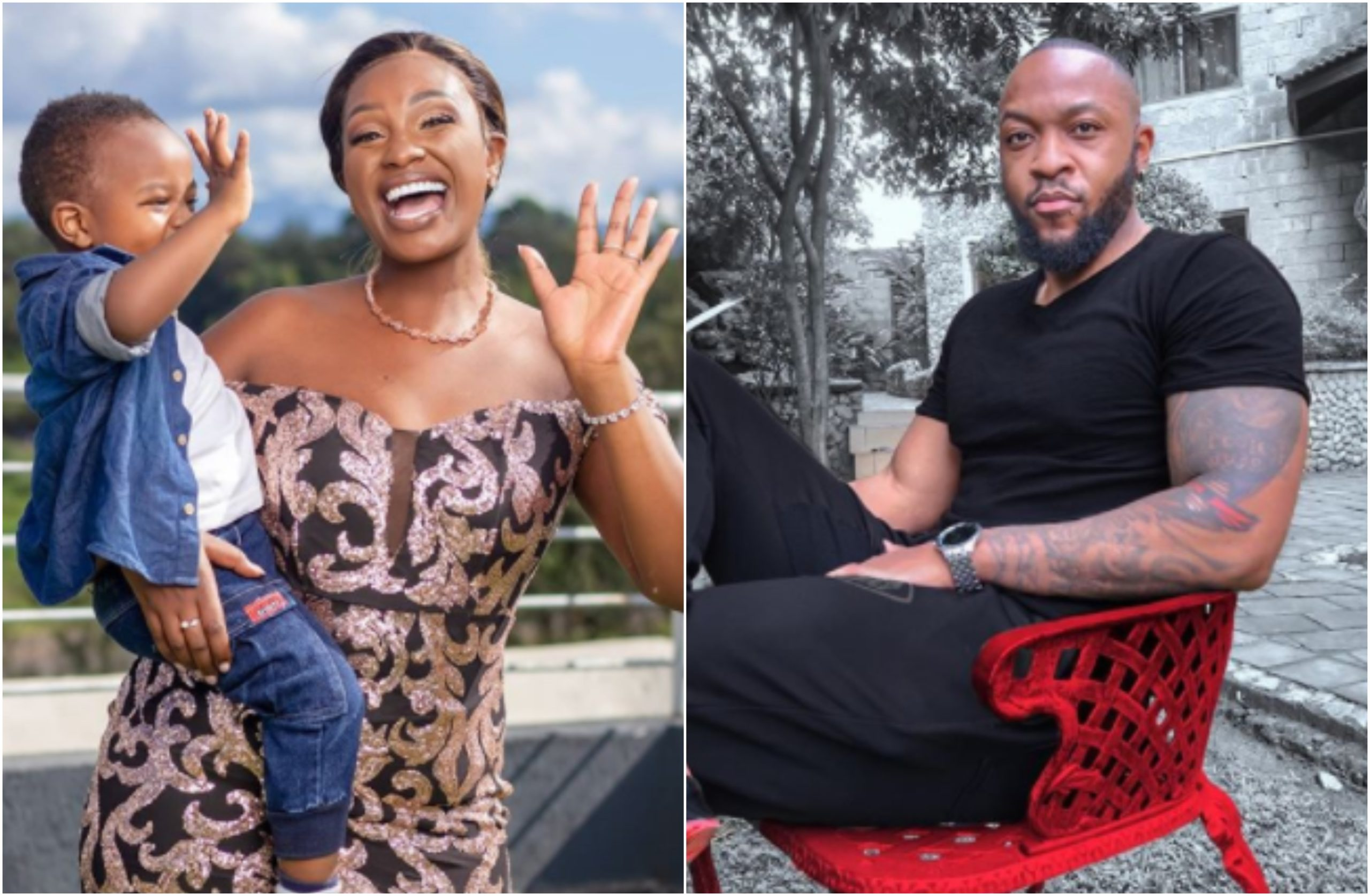 Maureen Waititu finally speaks up a day after baby daddy Frankie Just Gym It confirmed secret affair with Corazon Kwamboka