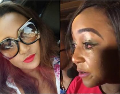 Betty Kyallo nearly involved in grisly road accident (Video)