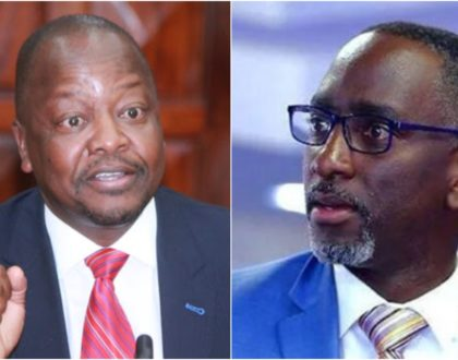 CS Mutahi Kagwe comes clean about Robert Burale´s Covid-19 status, leaves Kenyans in shock (Video)