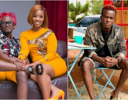 Willy Paul does it again! Asks Bahati to get a wife of his standards (Video)