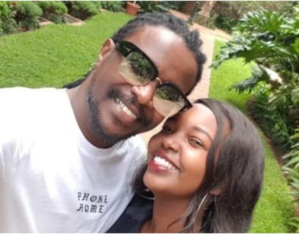 Video of Nyashinski and wife looking all loved-up months after welcoming newborn sparks wild reactions