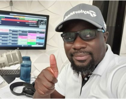 Radio Jambo's Gidi Gidi goes into self isolation after developing flu symptoms