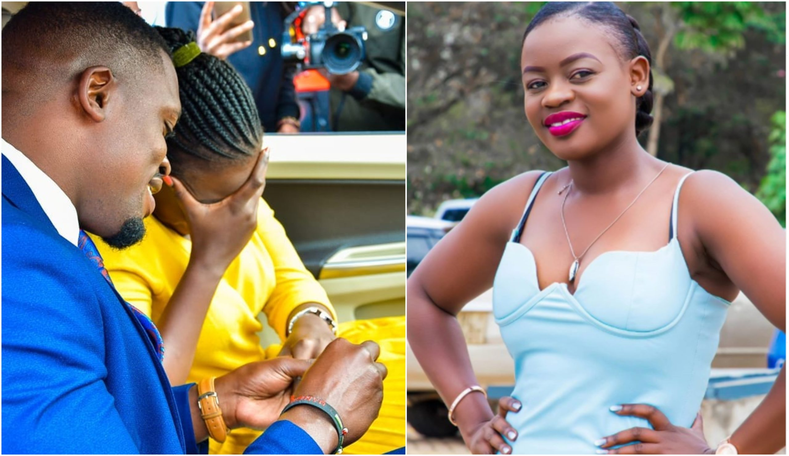 Drama! Edgar Obare exposes Akothee's sister Cebbie for being a husband snatcher just days after getting engaged (Screenshots)
