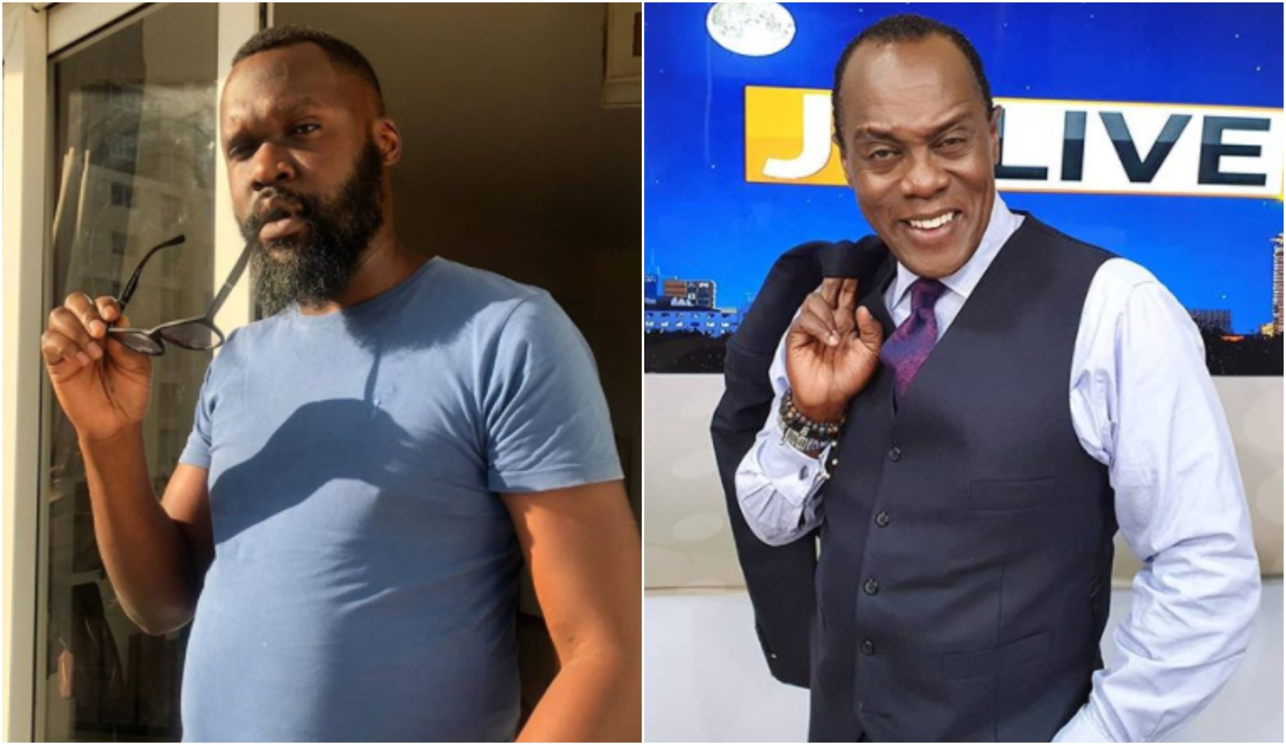 Keff Joinange wishes his voice twin Jeff Koinange a quick recovery (Video)
