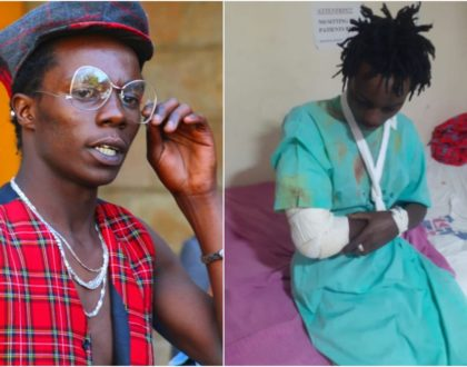 Zzero Sufuri nursing serious injuries after horrific road accident (Photos)