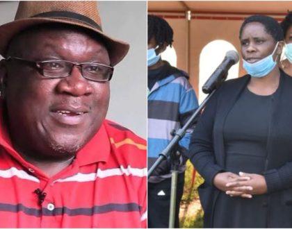 Sad! Papa Shirandula's wife narrates his last moments before breathing his last (Video)