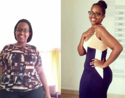 Amazing transformation! Ben Kitili's shocks many with photos showing her weight loss journey from 110 kgs to 70 kgs