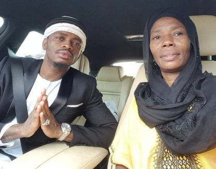 Diamond Platnumz' relationship problems are all his mother's fault