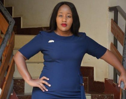 Former K24's curvaceous news anchor lands new job days after being fired