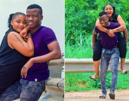 A happy Shilole and hubby before their love turned sour (Photos)