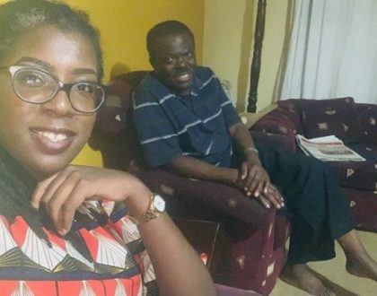 Pained BBC Journalist Ciku Muiruri in mourning after losing her father!