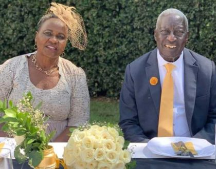 Kalekye Mumo's parents hold colorful ceremony to renew vows on their 50th wedding anniversary (Photos)