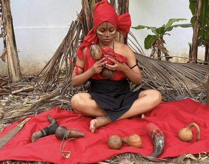 Nandy accused of using Devil worship money to purchase new multi million mansion that has left tongues wagging online (Photo)