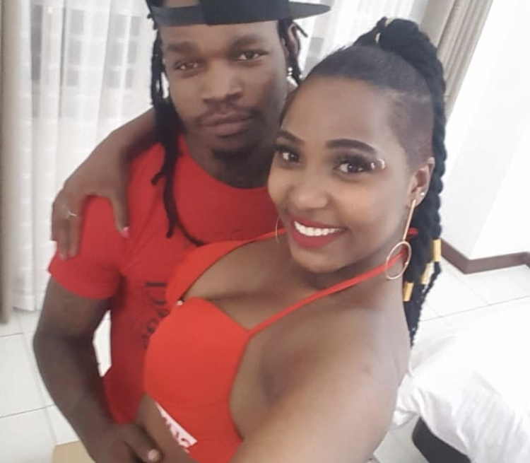 'She belongs to the streets!' Kenyans react to video showing Timmy Tdat touching vixen's private parts!