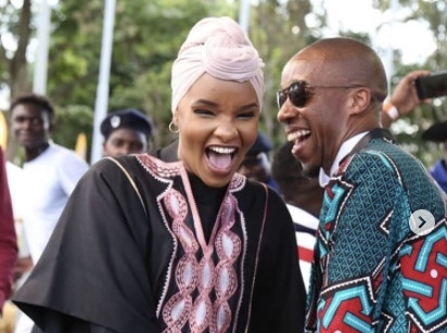 How Lulu Hassan and Rashid Abdalla celebrated 11 years of their successful marriage!